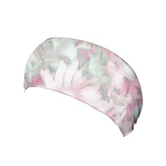 Romantic Pastel Floral,pink Yoga Headband by MoreColorsinLife