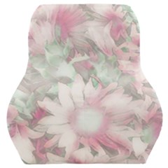 Romantic Pastel Floral,pink Car Seat Back Cushion