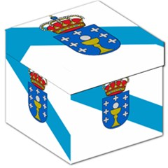 Flag Of Galicia Storage Stool 12   by abbeyz71