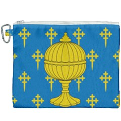 Flag Of Kingdom Of Galicia, 16th Century Canvas Cosmetic Bag (xxxl)