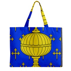 Banner Of Arms Of Kingdom Of Galice After Doetecum Zipper Mini Tote Bag