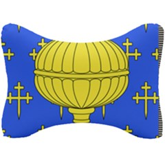 Banner Of Arms Of Kingdom Of Galice After Doetecum Seat Head Rest Cushion by abbeyz71