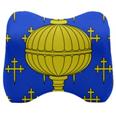 Banner Of Arms Of Kingdom Of Galice After Doetecum Velour Head Support Cushion by abbeyz71