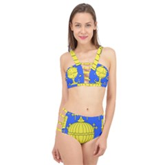 Banner Of Arms Of Kingdom Of Galice After Doetecum Cage Up Bikini Set