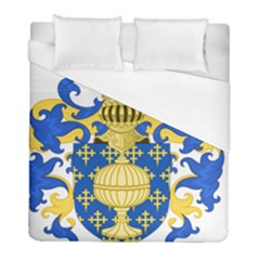 Coat Of Arms Of Kingdom Of Galicia, 16th Century Duvet Cover (full/ Double Size) by abbeyz71