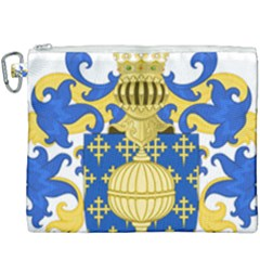 Coat Of Arms Of Kingdom Of Galicia, 16th Century Canvas Cosmetic Bag (xxxl) by abbeyz71