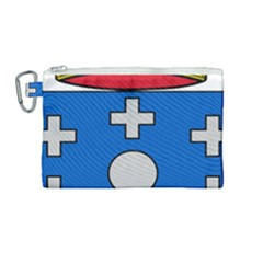 Coat Of Arms Of Galicia Canvas Cosmetic Bag (medium) by abbeyz71