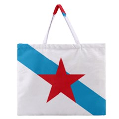 Estreleira Flag Zipper Large Tote Bag by abbeyz71