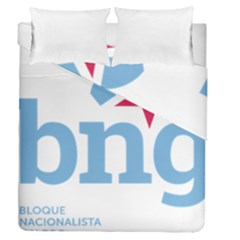 Galician Nationalist Bloc Logo Duvet Cover Double Side (queen Size) by abbeyz71