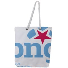 Galician Nationalist Bloc Logo Full Print Rope Handle Tote (large) by abbeyz71