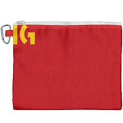 Confederaci¨?n Intersindical Galega Flag Canvas Cosmetic Bag (xxxl) by abbeyz71