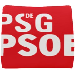 Socialists  Party Of Galicia Logo Seat Cushion by abbeyz71