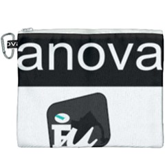 Logo Of Alternativa Galega De Esquerda Canvas Cosmetic Bag (xxxl) by abbeyz71