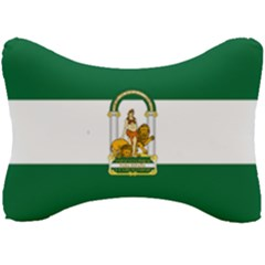 Flag Of Andalusia Seat Head Rest Cushion by abbeyz71