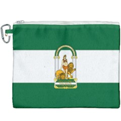 Flag Of Andalusia Canvas Cosmetic Bag (xxxl) by abbeyz71