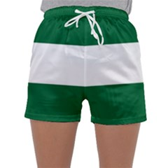 Flag Of Andalusia Sleepwear Shorts by abbeyz71