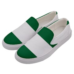 Flag Of Andalusia Men s Canvas Slip Ons by abbeyz71