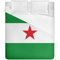 Flag Of Andalusian Nation Party Duvet Cover (california King Size) by abbeyz71