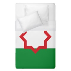 Nationalist Andalusian Flag Duvet Cover (single Size) by abbeyz71