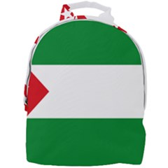 Flag Of Andalucista Youth Wing Of Andalusian Party Mini Full Print Backpack by abbeyz71