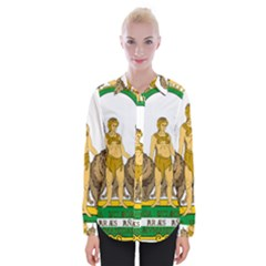 Emblem Of Andalusia Womens Long Sleeve Shirt