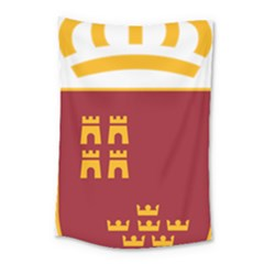 Stylized Coat Of Arms Of Murcia Small Tapestry