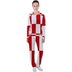 Flag Of Castile & León Casual Jacket And Pants Set