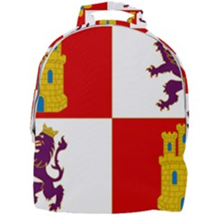 Flag Of Castile & Le¨?n Mini Full Print Backpack by abbeyz71