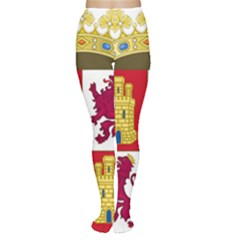 Coat Of Arms Of Castile And León Tights by abbeyz71