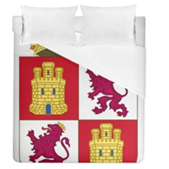 Coat Of Arms Of Castile And Le¨?n Duvet Cover (queen Size) by abbeyz71