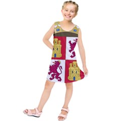 Coat Of Arms Of Castile And León Kids  Tunic Dress by abbeyz71