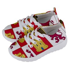 Coat Of Arms Of Castile And León Kids  Lightweight Sports Shoes by abbeyz71