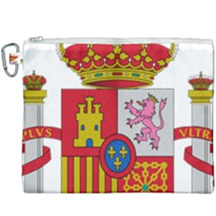 Coat Of Arms Of Spain Canvas Cosmetic Bag (xxxl) by abbeyz71