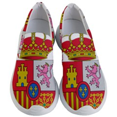 Coat Of Arms Of Spain Women s Lightweight Slip Ons by abbeyz71