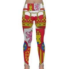 Coat Of Arms Of Spain Lightweight Velour Classic Yoga Leggings by abbeyz71