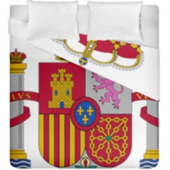 Coat Of Arms Of Spain Duvet Cover Double Side (king Size) by abbeyz71