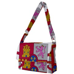 Coat Of Arms Of Spain Full Print Messenger Bag by abbeyz71