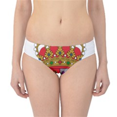 Coat Of Arms Of Spain Hipster Bikini Bottoms by abbeyz71