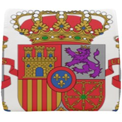 Coat Of Arms Of Spain Seat Cushion by abbeyz71