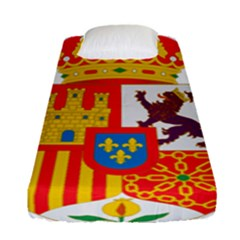 Coat Of Arms Of Spain Fitted Sheet (single Size)