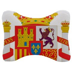 Coat Of Arms Of Spain Velour Seat Head Rest Cushion by abbeyz71