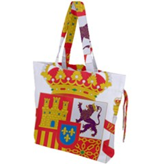 Coat Of Arms Of Spain Drawstring Tote Bag by abbeyz71