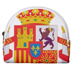 Coat Of Arms Of Spain Horseshoe Style Canvas Pouch by abbeyz71