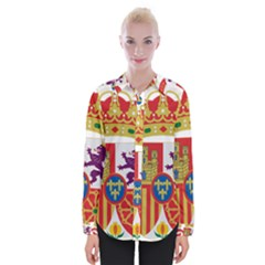 Coat Of Arms Of Spain Womens Long Sleeve Shirt
