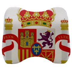 Coat Of Arms Of Spain Velour Head Support Cushion