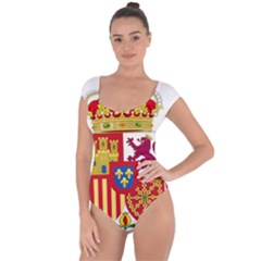 Coat Of Arms Of Spain Short Sleeve Leotard