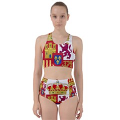 Coat Of Arms Of Spain Racer Back Bikini Set by abbeyz71