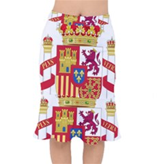 Coat Of Arms Of Spain Mermaid Skirt by abbeyz71