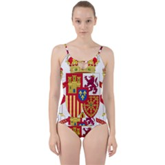 Coat Of Arms Of Spain Cut Out Top Tankini Set