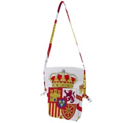Coat Of Arms Of Spain Folding Shoulder Bag by abbeyz71